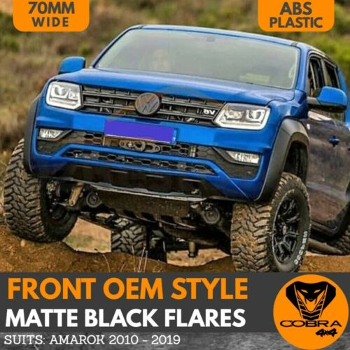 FRONT BUMPER BAR FLARE LEFT HAND SIDE FOR VOLKSWAGEN AMAROK 2H 2012-ONWARDS