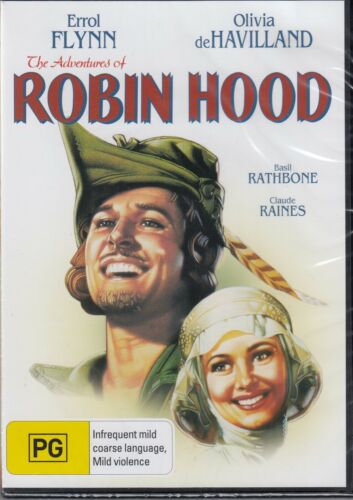 The Adventures of Robin Hood - DVD Errol Flynn New and Sealed