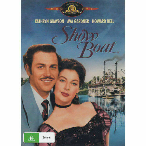 Show Boat - Kathryn Grayson Howard Keel New and Sealed DVD