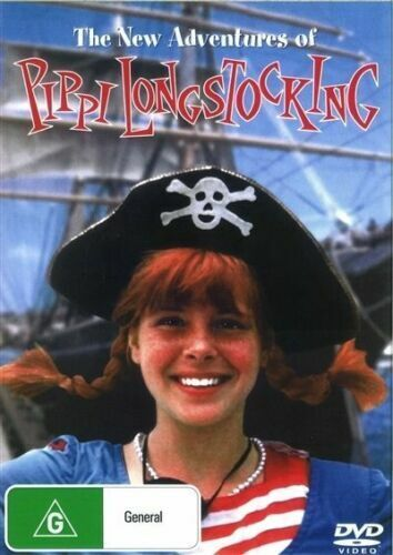 The New Adventures of Pippi Longstocking  -  Tami Erin  New and Sealed DVD