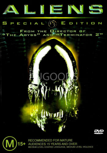 Aliens Special Edition - Rare DVD Aus Stock -DISC LIKE NEW