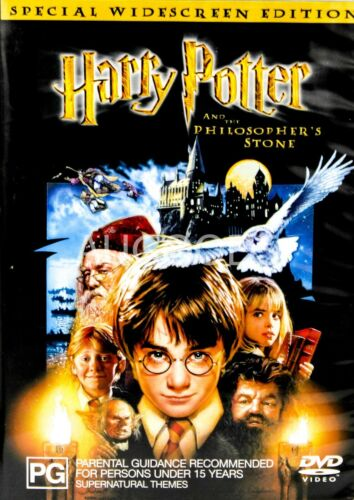 Harry Potter And The Philosopher's Stone  - Rare- Aus Stock DVD -DISC LIKE NEW
