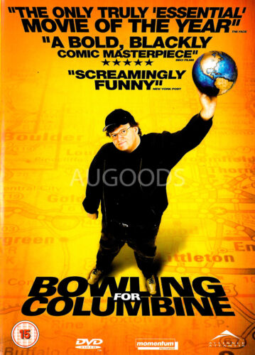 Bowling for Columbine - Region 2 Rare- Aus Stock DVD Excellent Condition