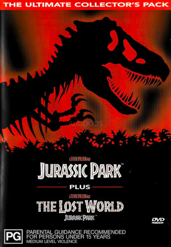 Jurassic Park + The Lost World The Ultimate Collector's Pack -Family DVD