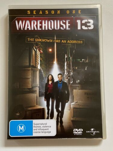 WAREHOUSE 13 Season 1 (4 Disc Set) VGC