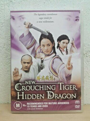 New Crouching Tiger Hidden Dragon DVD 2 DISC