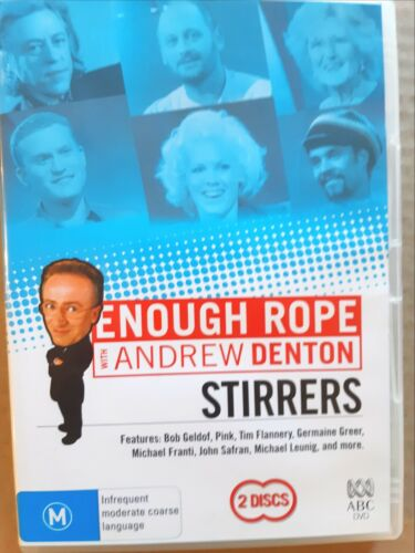 Enough Rope With Andrew Denton - Stirrers [ 2 DVD Set ] Region 4, FREE Fast Post