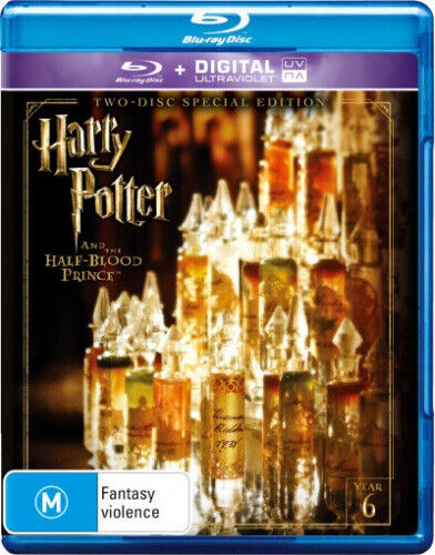 Harry Potter And The Half-Blood Prince Special Ed - Blu Ray Like new