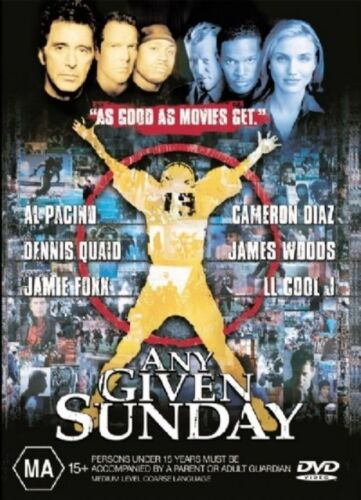 Any Given Sunday - Dvd Like new