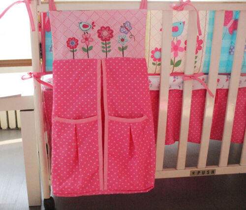 Nappy Stacker Diaper Baby Nursery Room New High Quality Storage PINK Flower