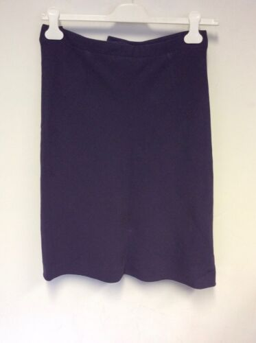 MULBERRY HEATHER CREPE A LINE  SKIRT SIZE 12
