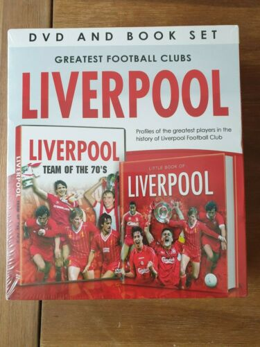 THE GREATEST FOOTBALL CLUBS - LIVERPOOL - DVD & BOOK SET