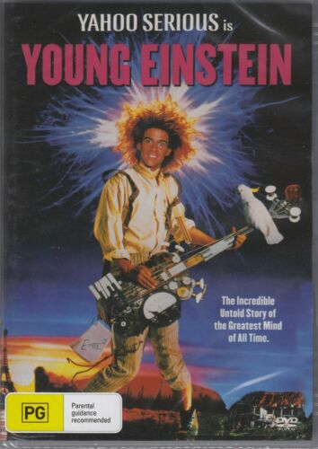 Young Einstein - Yahoo Serious New and Sealed DVD