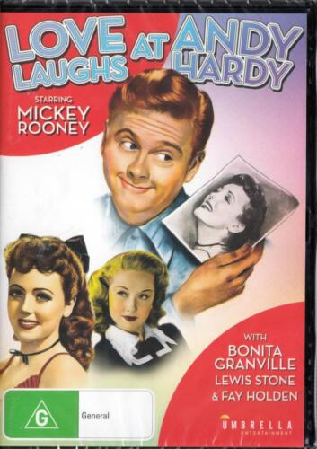 LOVE LAUGHS AT ANDY HARDY - MICKEY ROONEY- NEW & SEALED DVD - FREE LOCAL POST