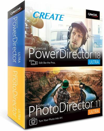 Cyberlink PowerDirector 18 + PhotoDirector 11