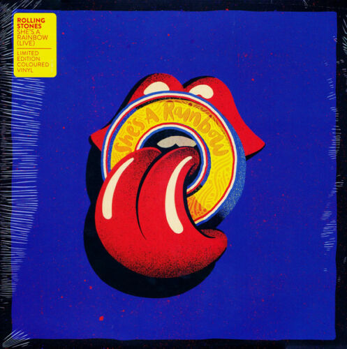 """ROLLING STONES, SHE'S A RAINBOW, 10"""" VINYL, YELLOW, RSD EXCL 2019 (SEALED)"""