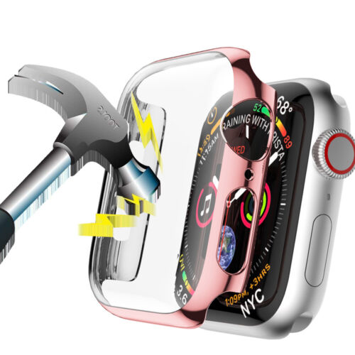 Hard PC Full Cover Screen Protector For Apple Watch Series 6 5 4 3 38/40 42/44mm
