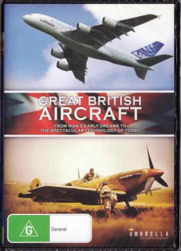 GREAT BRITISH AIRCRAFT - NEW & SEALED DVD FREE LOCAL POST