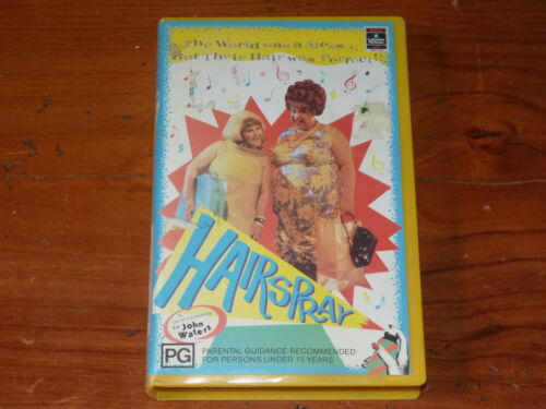 Hairspray VHS 1980's Comedy Columbia/RCA Home Video