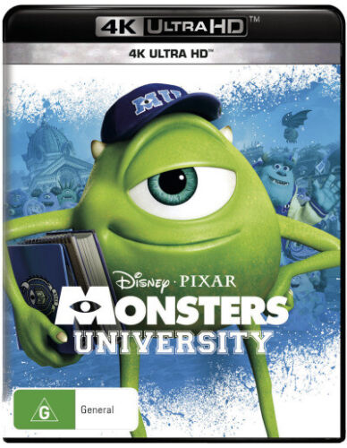 Monsters University (4K UHD)  - BLU-RAY - NEW Region B