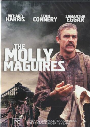 THE MOLLY MAGUIRES - RICHARD HARRIS - R4 NEW & SEALED DVD - FREE LOCAL POST