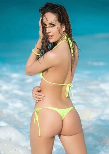 Mapale Hot Green Thong Bikini Imported From Colombia 6728