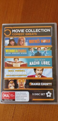 5 Movie Collection Comedy Greats