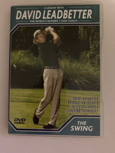 A Lesson With David Leadbetter - The Swing (DVD, 2003) Region Free