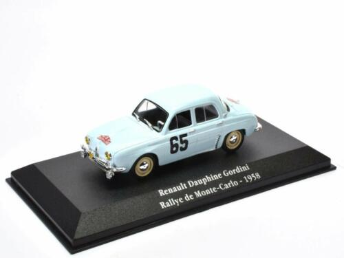 Renault Dauphine Gordini Monte Carlo 1958 - 1/43 Atlas Voiture Model car G012