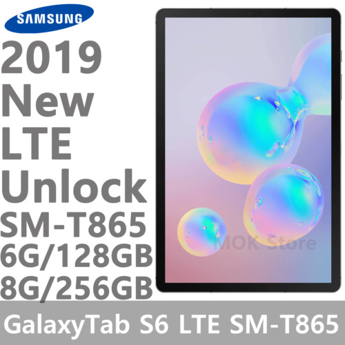 "Samsung Galaxy Tab S6 SM-T865 10.5"" WiFi+LTE Version TabletPC 6G/8G, 128GB/256GB"
