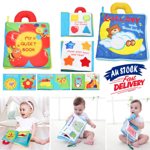 Cloth  Book  Quiet Education Soft My Baby Development Toys Learn Early