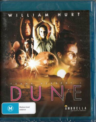 DUNE MINISERIES - FRANK HERBERT - WILLIAM HURT - BLU-RAY FREE LOCAL POST