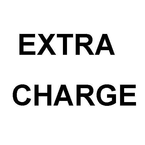 Extra charge for postage / parts / service