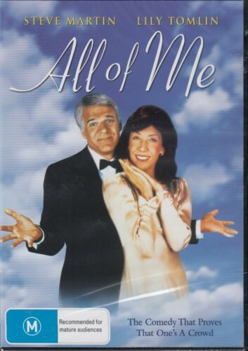 All Of Me - Steve Martin Lily Tomlin New and Sealed DVD