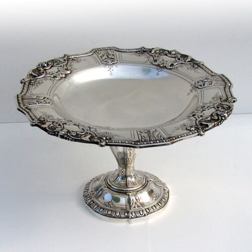 Renaissance Revival Louis XV Compote Reed Barton Sterling Silver 1910