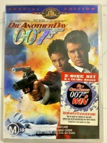 Die Another Day (DVD, 2010, 2-Disc Set)  aa117