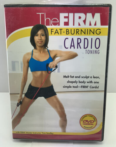 The Firm: Fat-Burning Cardio Toning (DVD) New And Sealed - Tina Smalley