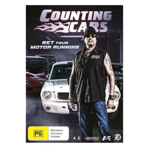 Counting Cars - Get Your Motor Running (DVD, 2019, 2-Disc Set), SEALED