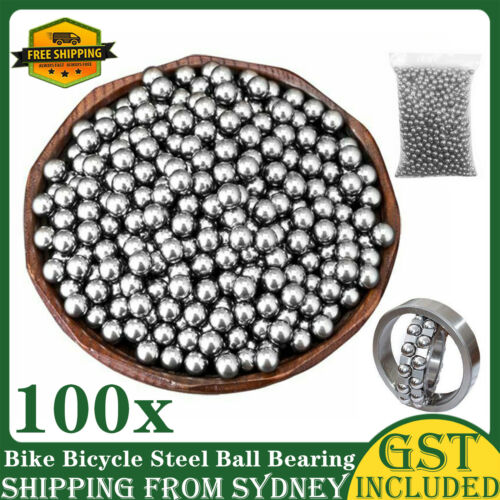 2.5mm 3mm 4mm 5mm 6mm 8mm Bike Bicycle Steel Ball Bearing Replacement Parts AU