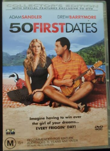 50 First Dates - DVD 2004 Collectors Edition Cat No. D32714