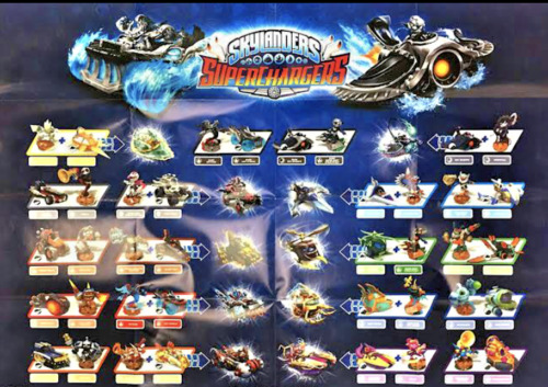 Skylanders Superchargers including some RARES - All Boxed-GIFTS AND COLLECTABLES