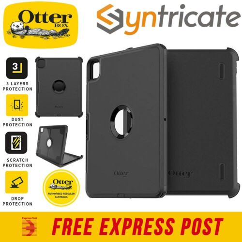 iPad Pro 12.9-INCH (4th/2020) OTTERBOX Defender Rugged Outdoor Slim Case - Black