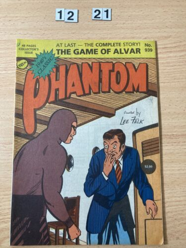 """Frew Phantom Comic # 939 From 1989. """"The Game of Alvar""""  48 page Special. Good"""