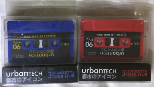 3 Port Cassette style USB 2.0 hub - Retro - portable -(Pack of 2) by Urbantech