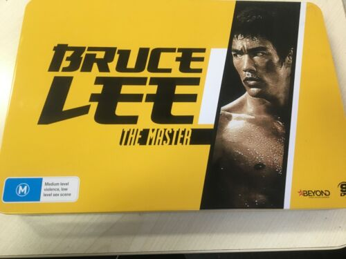 Bruce Lee: The Master Collector's Edition DVD TIN SET ( 9 DVD )  LIKE NEW REG 4