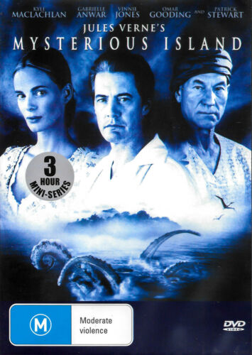 MYSTERIOUS ISLAND - Rare DVD Aus Stock New Region ALL
