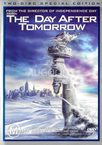 The Day After Tomorrow - Region 4 Rare- Aus Stock DVD NEW
