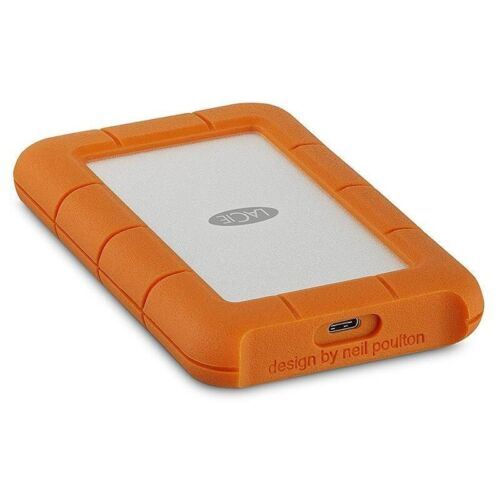 LaCie 5TB Rugged USB 3.1 Gen 1 Type-C External Portable Hard Drive STFR5000800