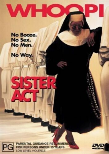 Sister Act -Rare DVD Aus Stock Comedy -DISC LIKE NEW