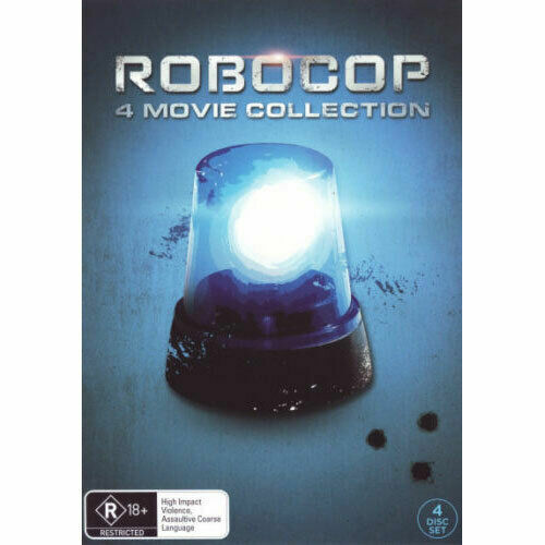 Robocop 4 Movie Collection New and Sealed DVD